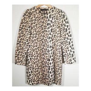Zara || Leopard Jacket